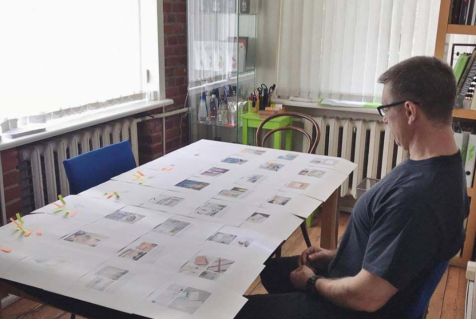 Работа в дизайн студии агентстве Muhina Design