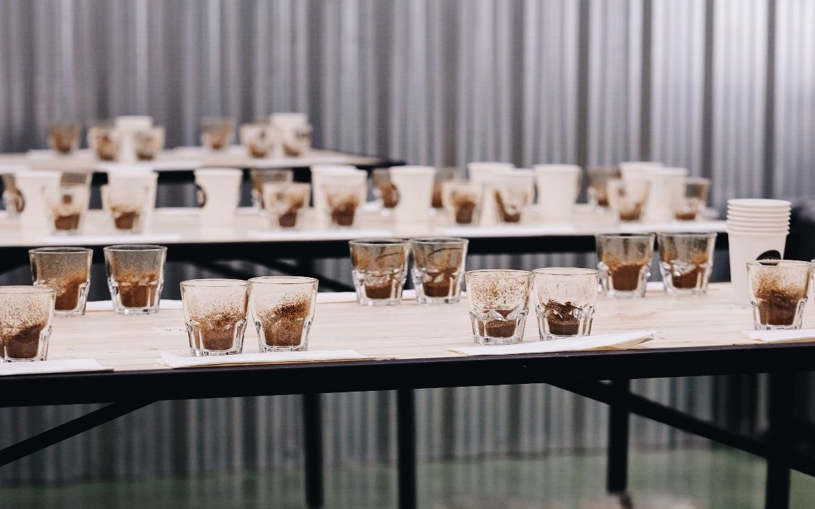 Фирменный стиль Tasty Coffee от Мухина Дизайн на фестивале обжарщиков кофе 2018