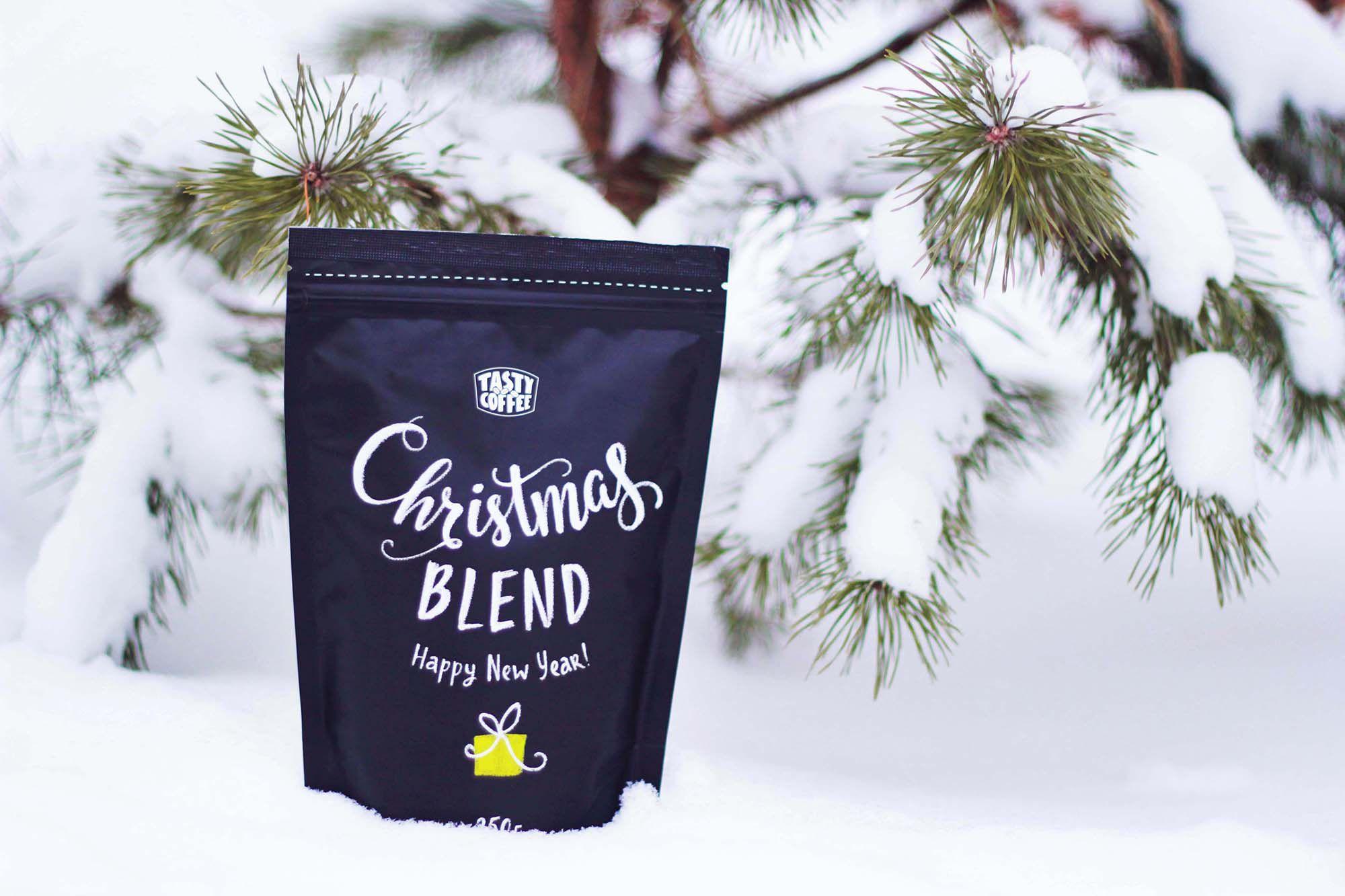 леттеринг на упаковке Tasty Coffee от Мухина Дизайн