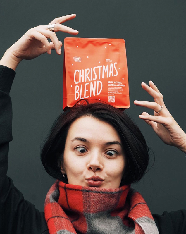christmas blend 2020 cover