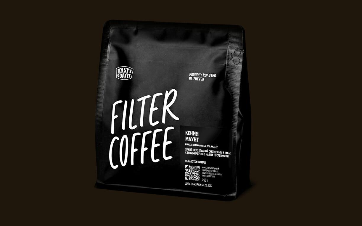 novaya upakovka tasty coffee